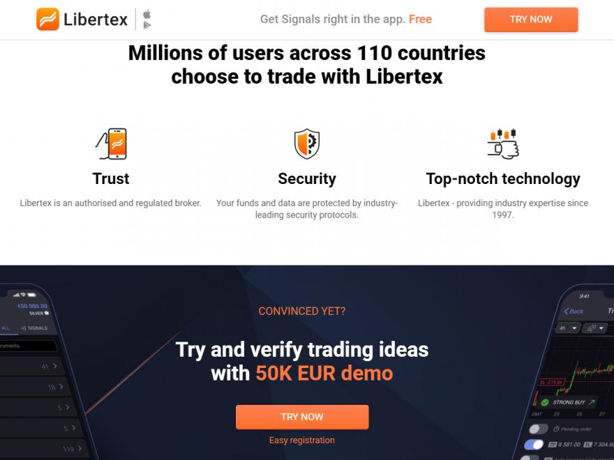 trading signals libertex